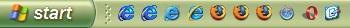 windows xp taskbar